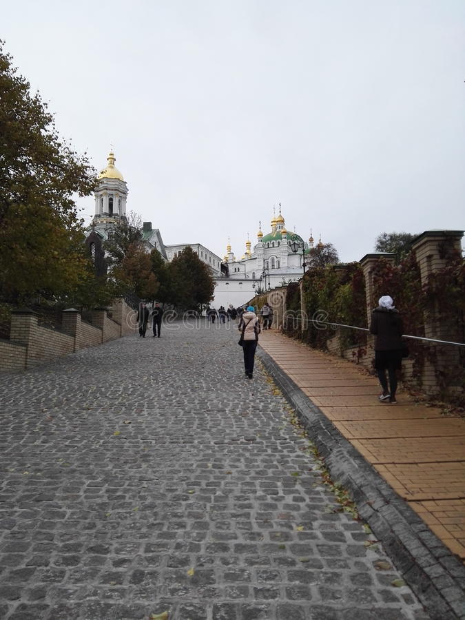 Ukrainische Tempel stockfotografie