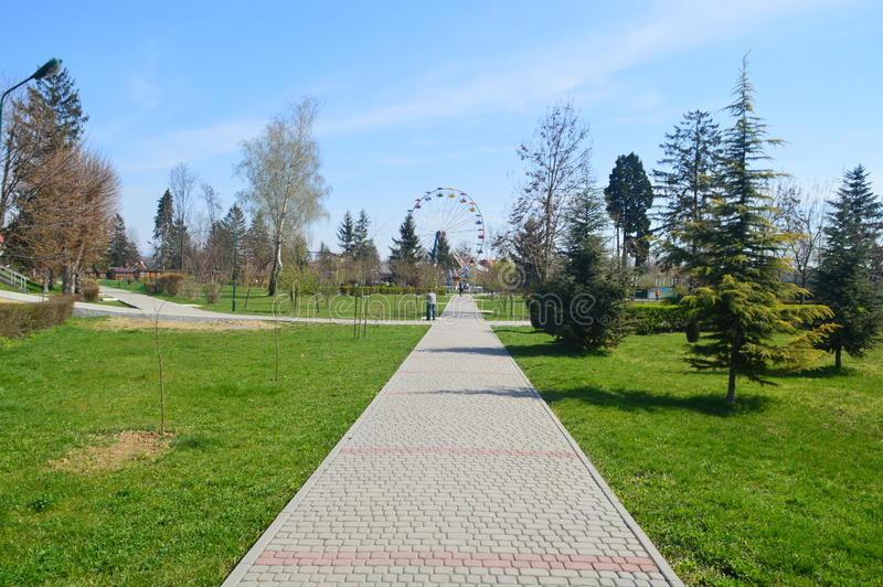 Ukrainischer Park lizenzfreies stockbild