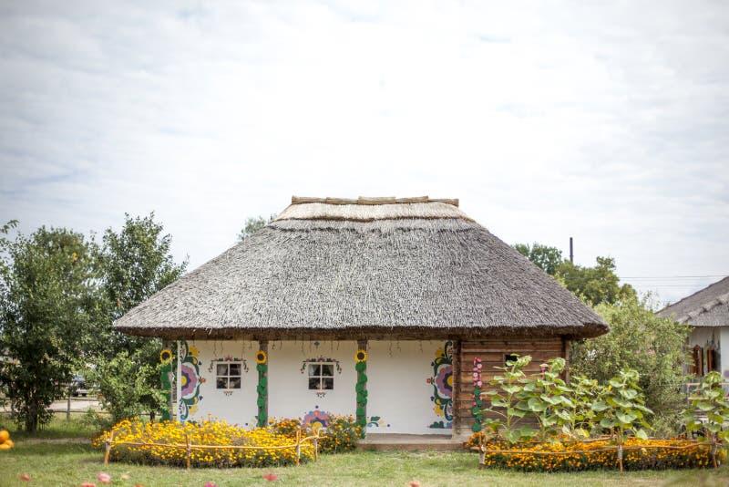 Ukrainskt nationellt historiskt hus arkivfoto