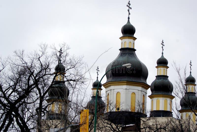 Ukranian Orthodox Church stock photo