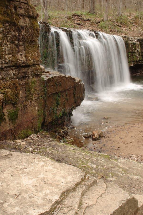 ukryty wodospad obrazy royalty free