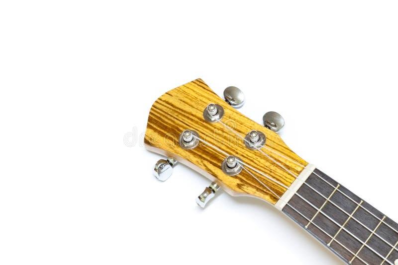 Ukulélé, instrument de musique de quatre ficelles images stock