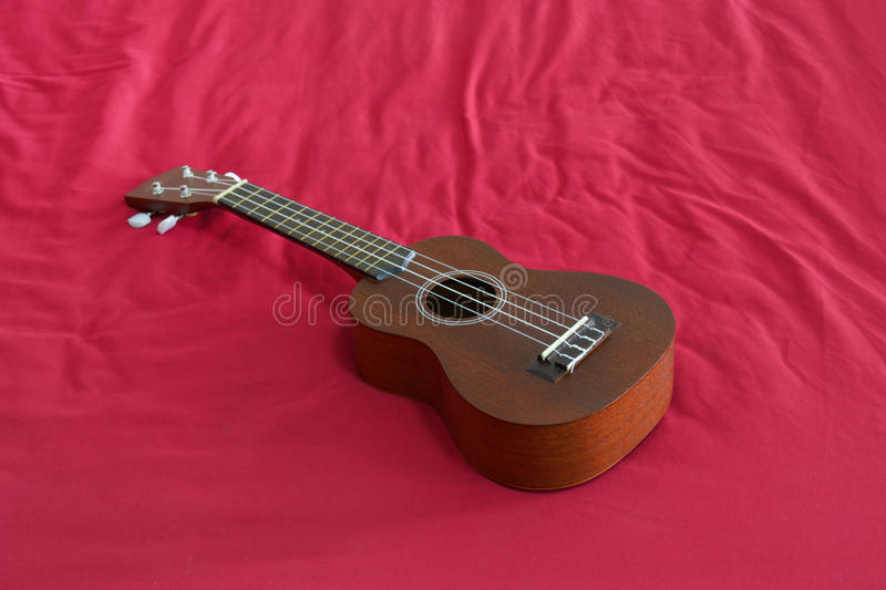 Ukulele. This is a ukulele, musical instrument from hawaii royalty free stock images