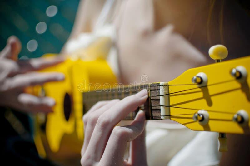 ukulele royaltyfria foton