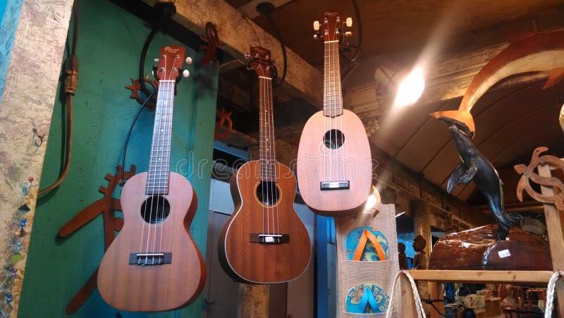 ukuleles imagen de archivo