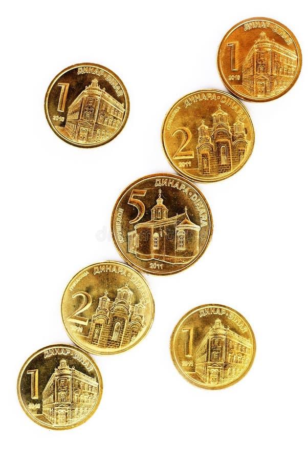 ukuwać nazwę dinaru serbian obraz royalty free