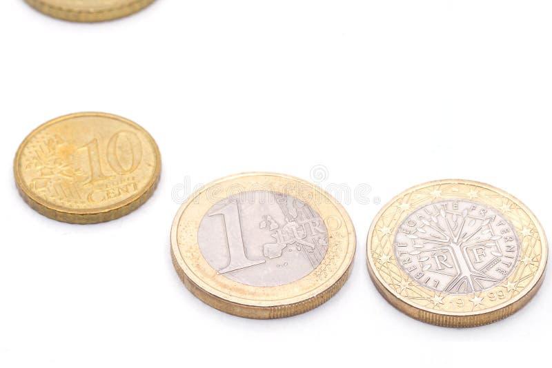 ukuwać nazwę euro obraz stock