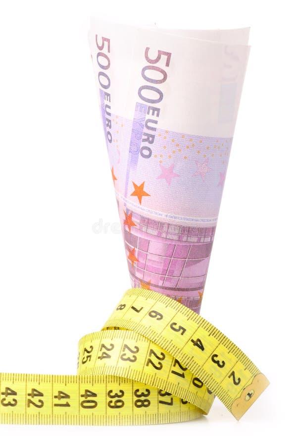 ukuwać nazwę euro target2475_0_ kolor żółty fotografia stock