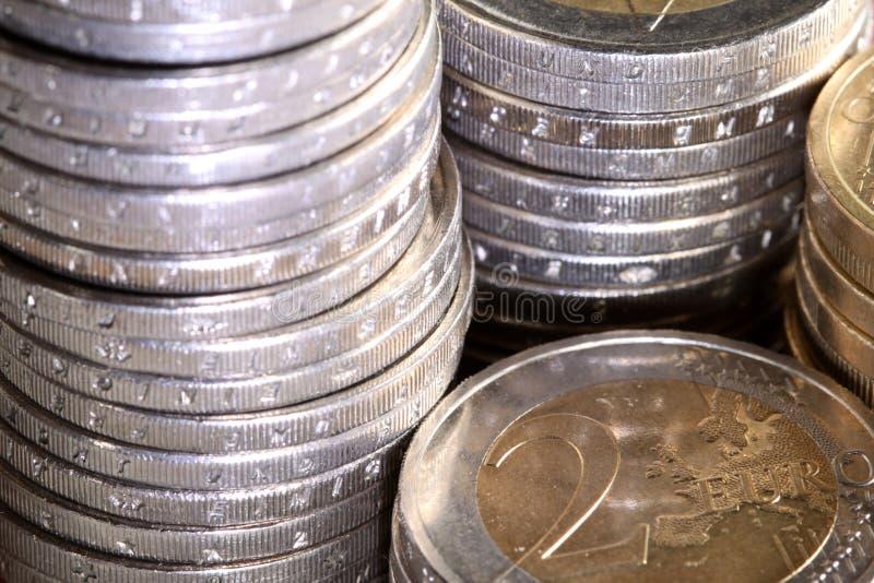 ukuwać nazwę euro wypiętrzającego obraz royalty free