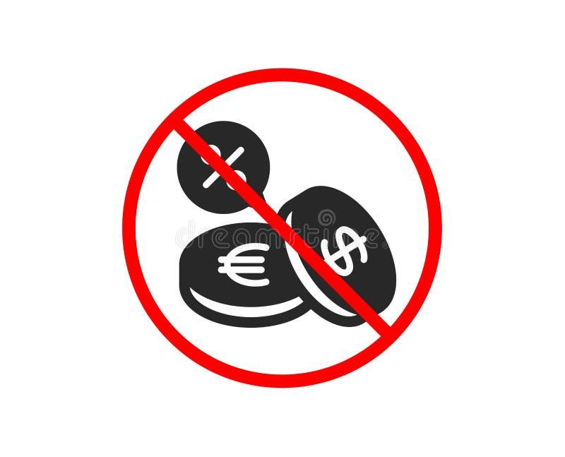 Ukuwa nazwę pieniądze ikonę Cashback usługa wektor ilustracja wektor