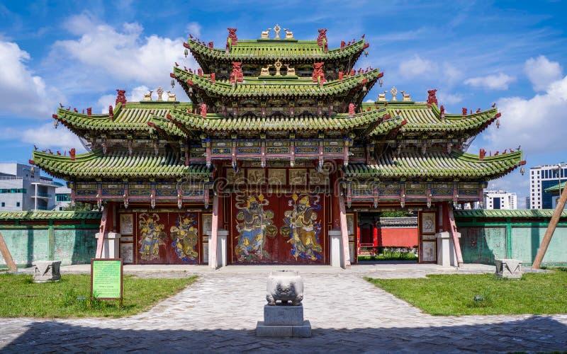 Ulaanbaatar, Mongolia. Winter Palace of Bogd Khan stock photos