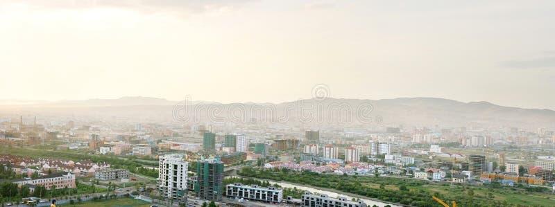 Ulan Bator- das Kapital von Mongolei lizenzfreie stockfotos