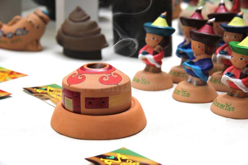 Ulan-Ude, Buryatia, Russia 04.22.2019. Exhibition and sale of Russian and Buryat folk Souvenirs Crafts Fair stock photos