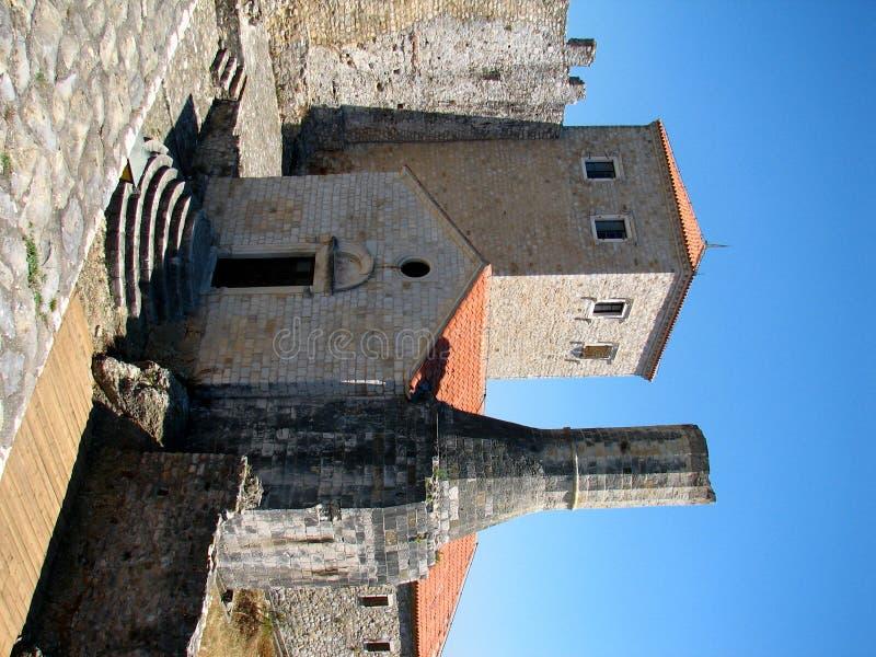 ulcinj городка montenegro старое стоковые изображения rf