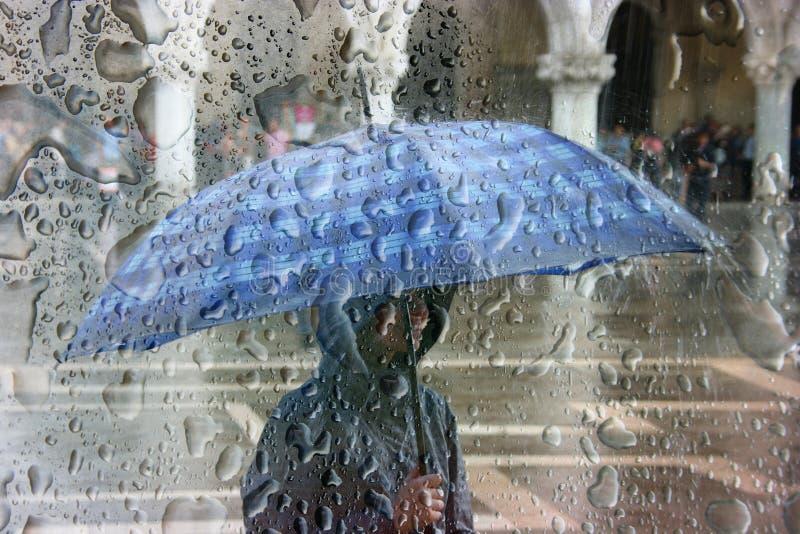 ulewny deszcz fotografia royalty free