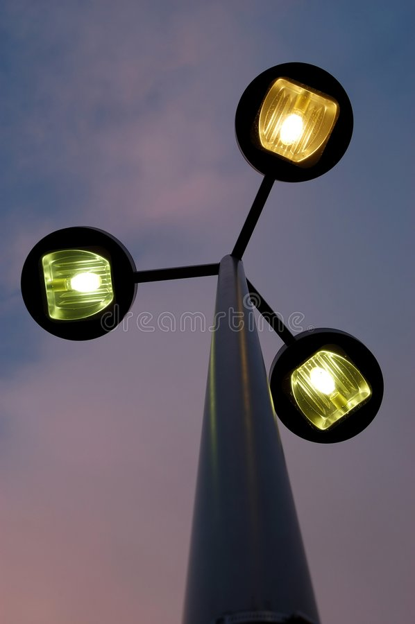 Ulica światła Zdjęcie Royalty Free