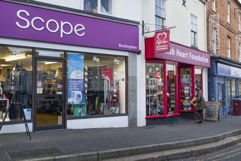 Ulica brytyjska w sklepie internetowym obrazy stock