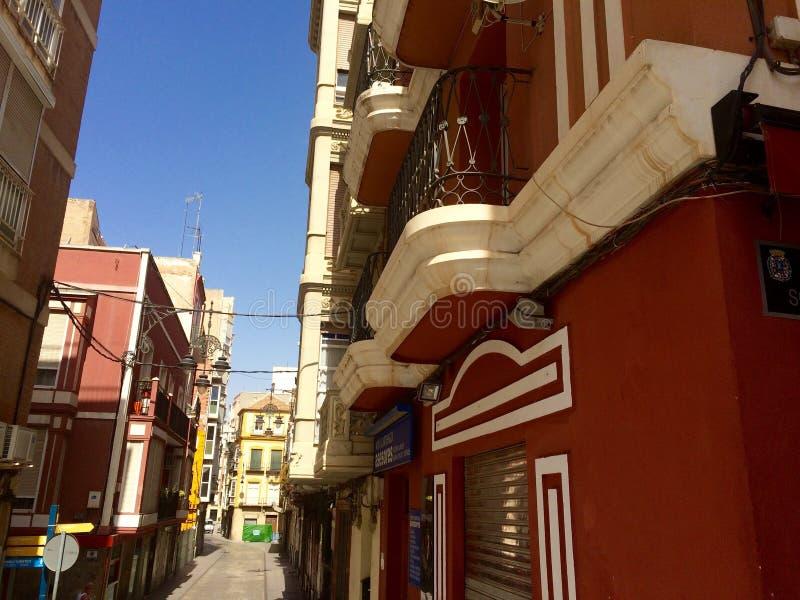 ulica hiszpanii obraz stock