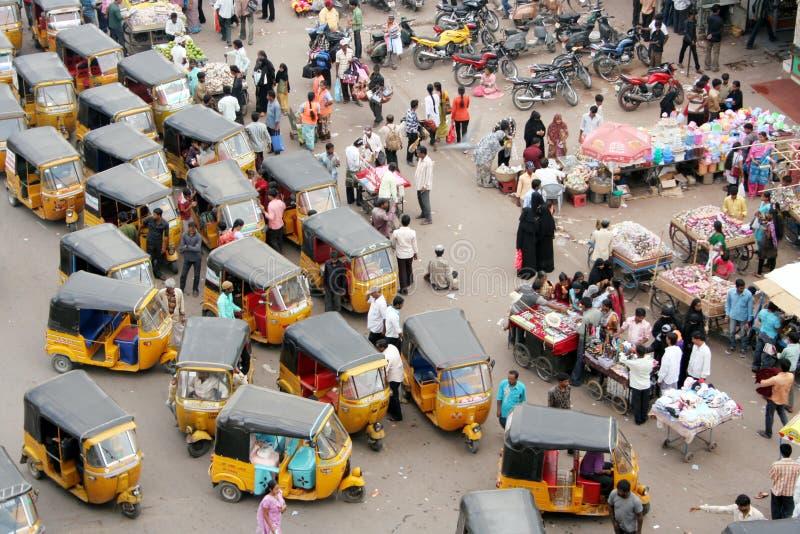 Ulica indiański Rynek zdjęcia stock