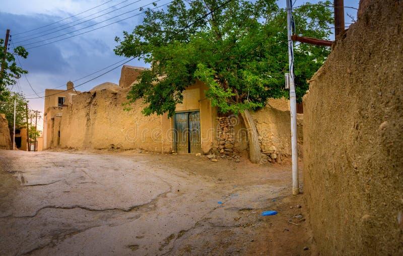 Ulica Irańska wioska obraz royalty free