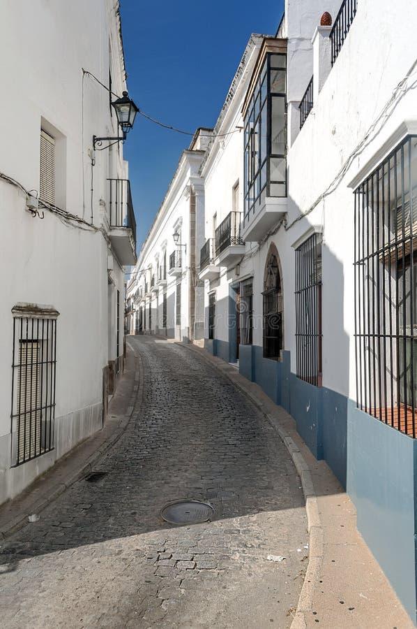 Ulica Jerez De Los Caballeros obrazy royalty free