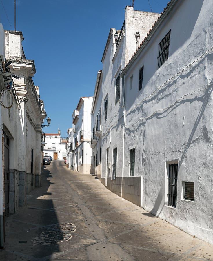 Ulica Jerez De Los Caballeros fotografia stock