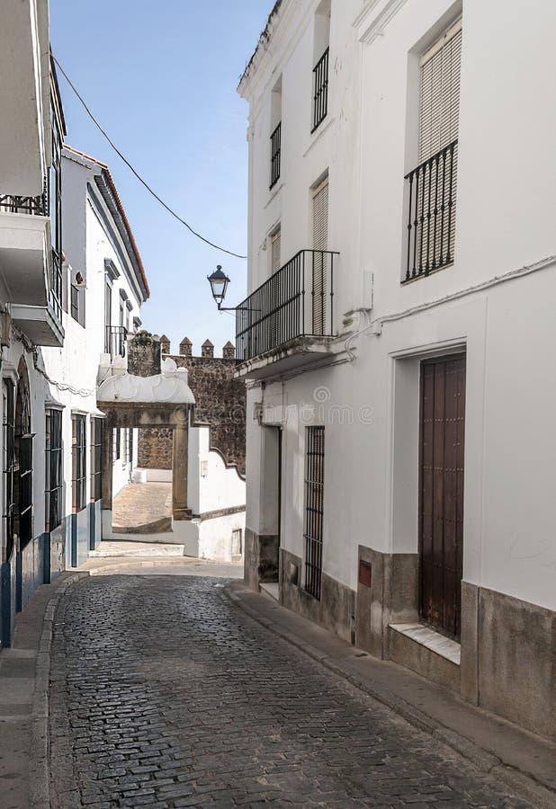 Ulica Jerez De Los Caballeros obraz royalty free