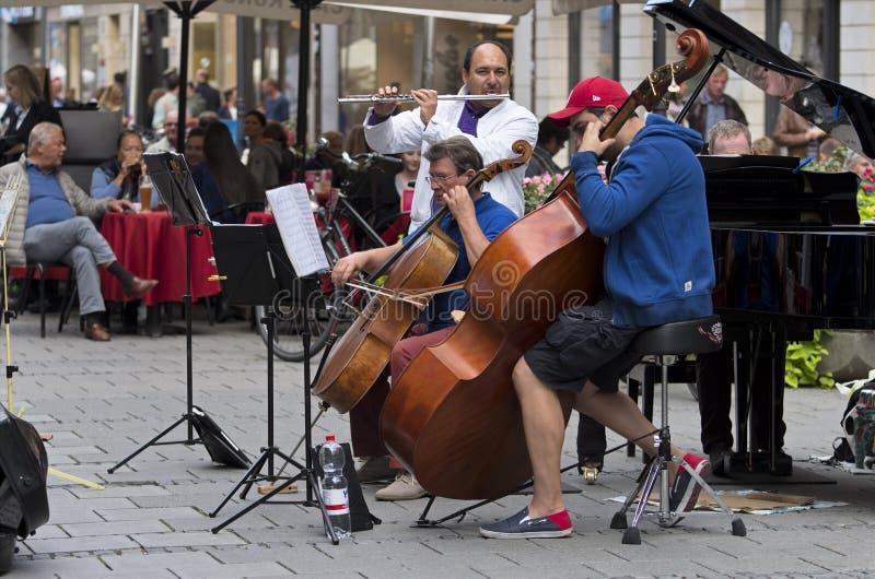 Ulica koncert obraz royalty free