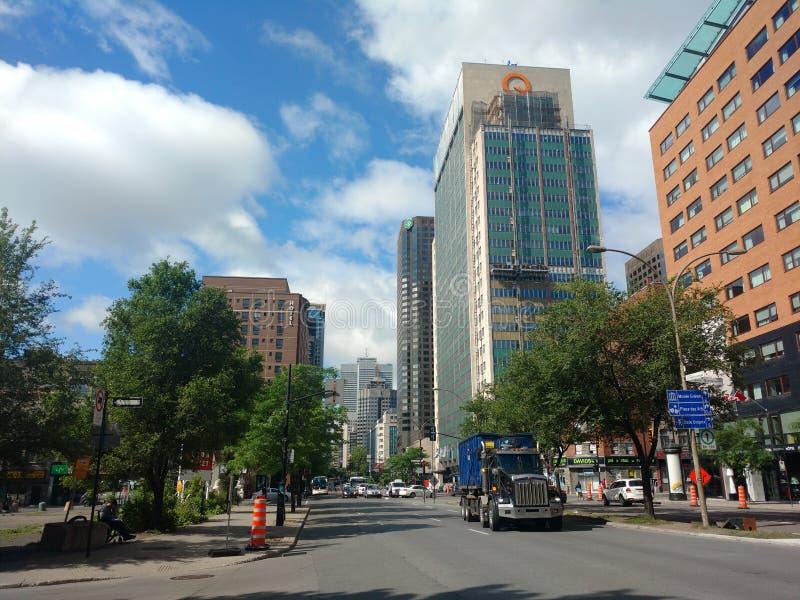 Ulica Montréal obraz royalty free