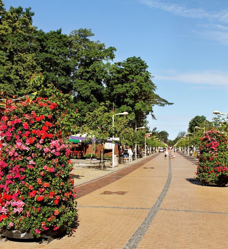 Ulica morze. obraz stock