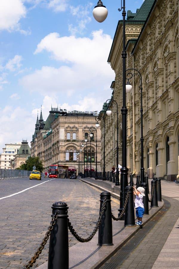 Ulica Moskwa zdjęcia stock