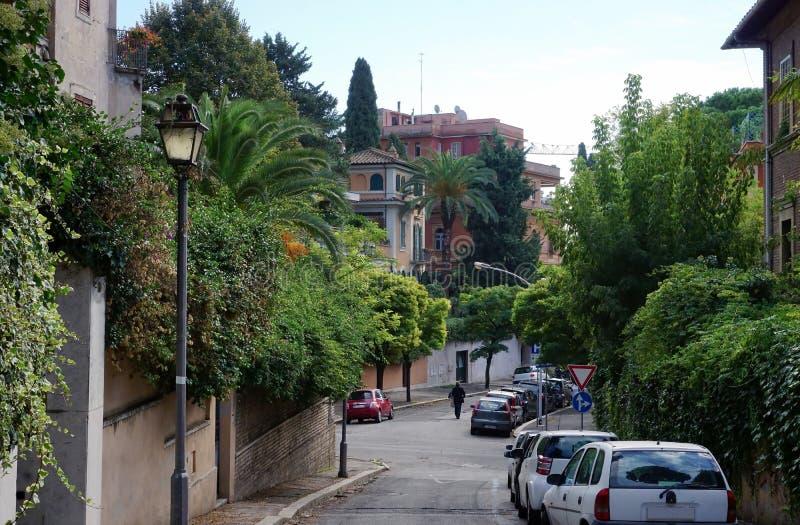 Ulica na Aventine zdjęcie stock