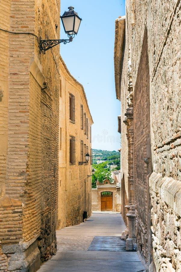 Ulica od Toledo obraz stock