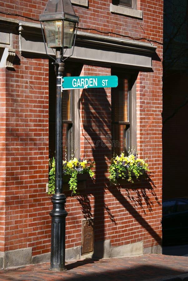 ulica ogrodowa zdjęcia stock