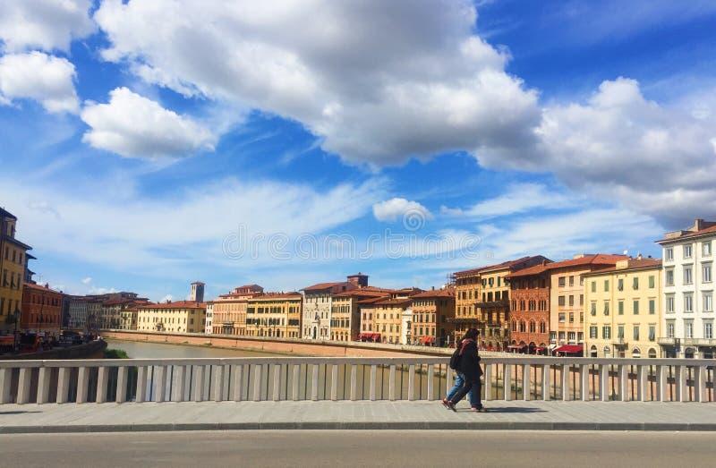 Ulica Pisa Italy obrazy stock