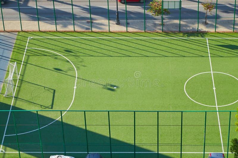 Ulica sąd dla mini piłki nożnej fotografia stock