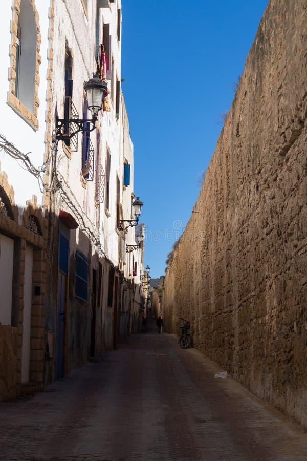 Ulica stary miasto, Safi, Maroko zdjęcie stock