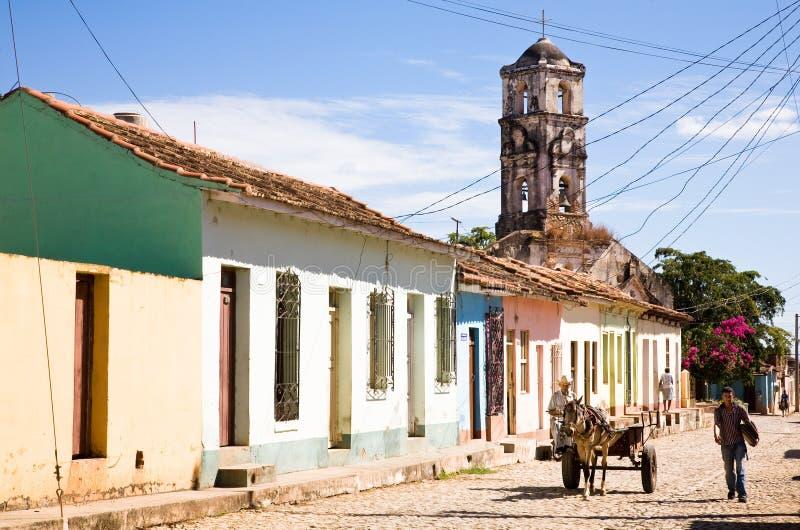 Ulica, Trinidad zdjęcie stock