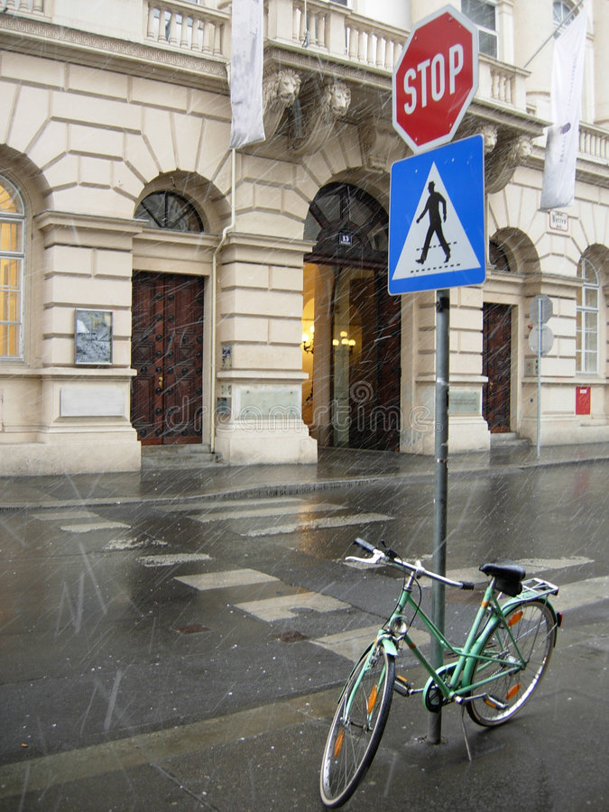 ulica Vienna obraz royalty free