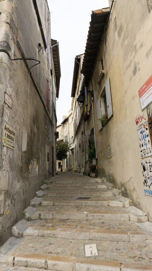 Ulica w Arles Francja obrazy royalty free