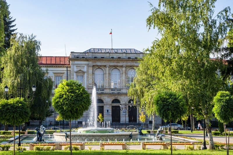 Ulica w fortelu w Bułgaria obrazy stock