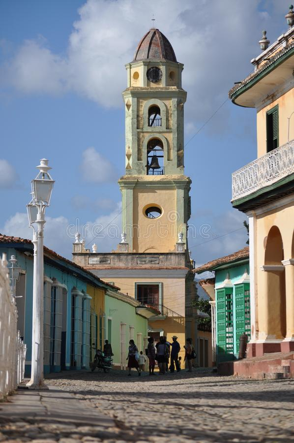 Ulica w kierunku muzeum narodowego walka Przeciw Bandi fotografia royalty free