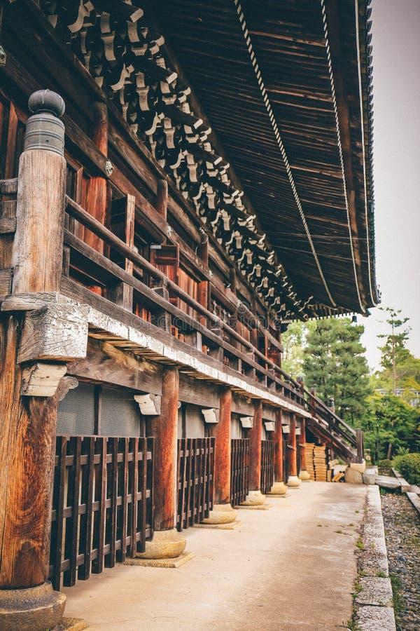 Ulica w Kyoto, Japonia obraz royalty free