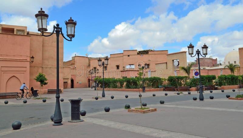 Ulica w Medina Marrakech, Maroko fotografia royalty free