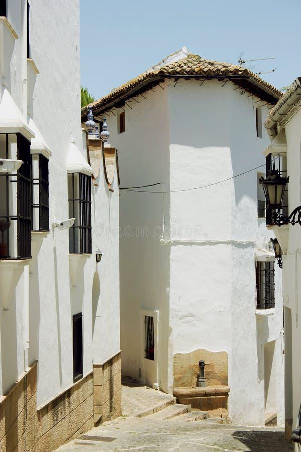 Ulica w Ronda, Hiszpania obrazy stock