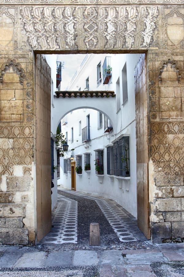Ulica w Seville obrazy royalty free