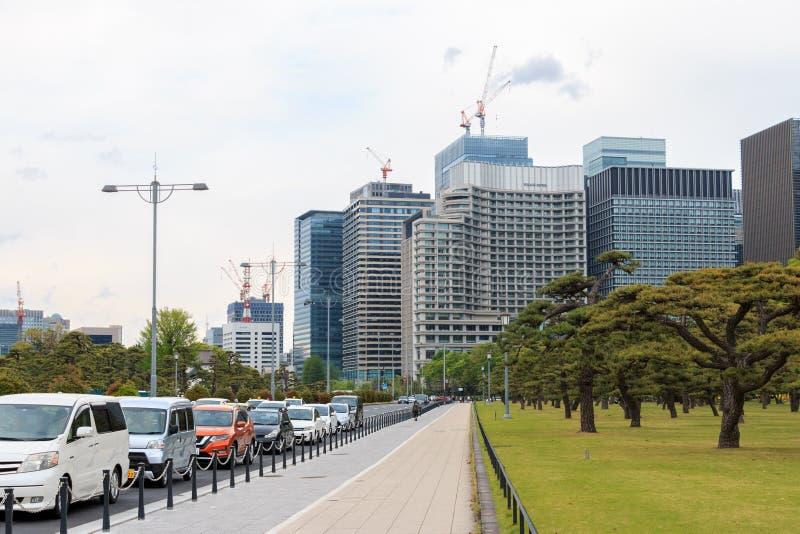 Ulica w Tokio, Japonia obraz stock