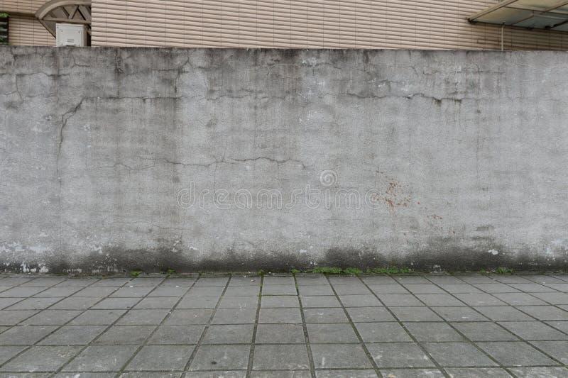 Ulicy ścienny tło, Przemysłowy tło zdjęcie stock