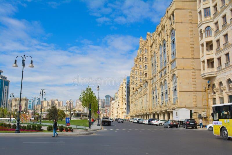 Download Ulicy Baku Miasto, Fizuli Ulica Fotografia Editorial - Obraz złożonej z ruch, azerbejdżan: 53785537