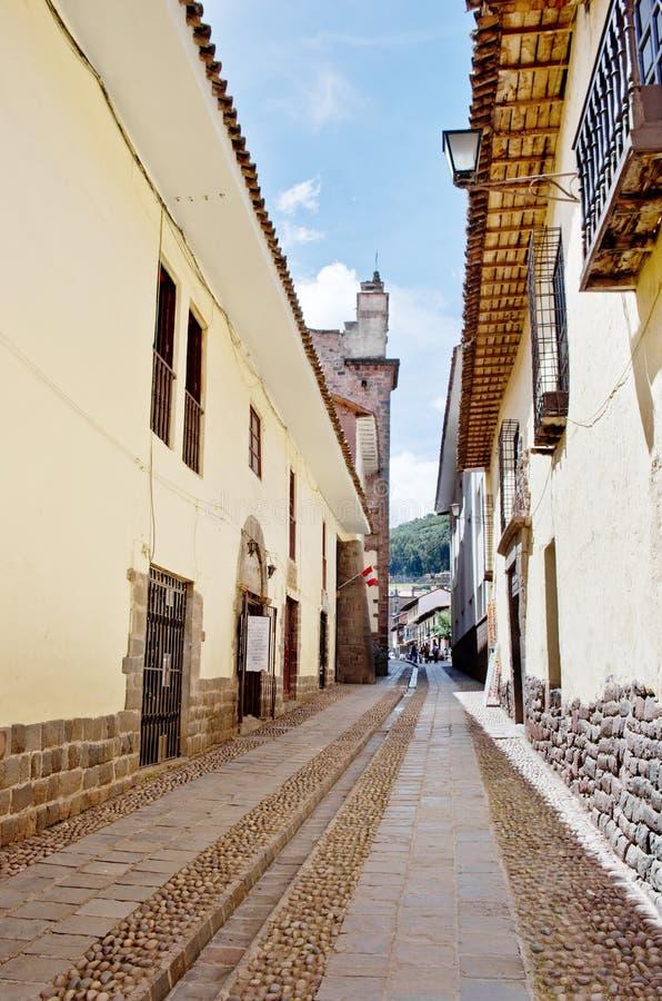 Ulicy Cuzco, Peru obrazy stock
